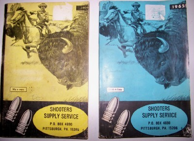 1964 & 1965 Gun & Shooting Supply Catalog Pair - Pittsburgh PA