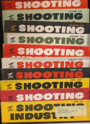 Lot Of 1960s Shooting Industry Mags - Hunting Reloading Archery