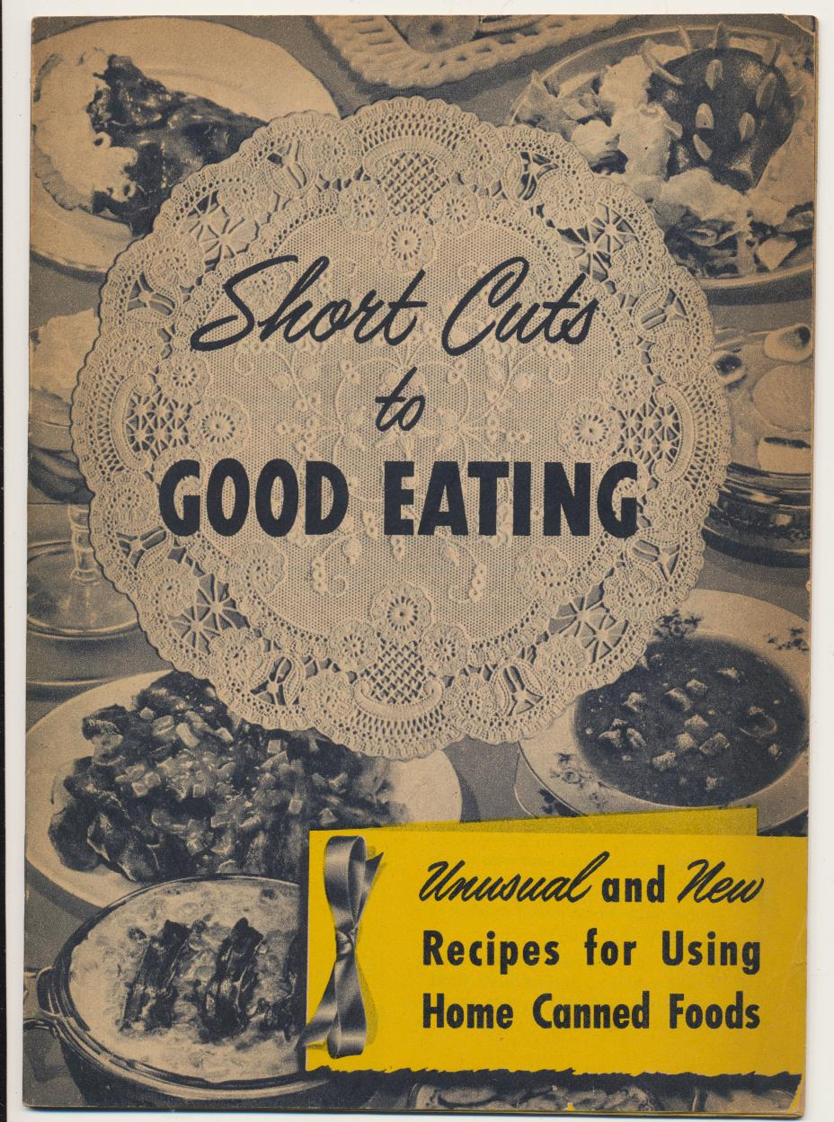 1950 Kerr Home Canned Food Advertising Cook Book