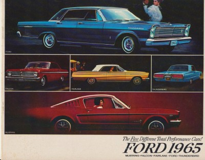1965 Ford Showroom Sales Literature