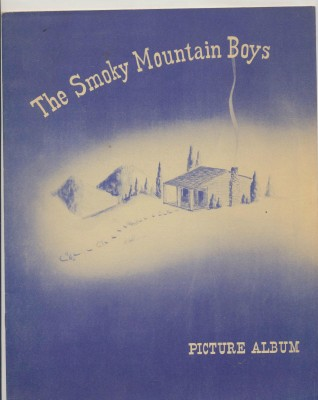 Vintage Smoky Mountain Boys Picture Album With Roy Acuff