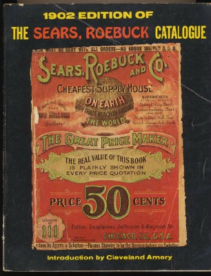 1902 Sears Roebuck Catalog - 1969 Softcover Reprint