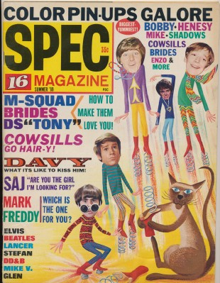 Summer 1969 16 Spec - Monkees Cover Features
