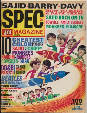 Spring 1968 16 Spec - Monkees Feature Stories