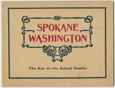 1905 Spokane WA Photo History Book W/Rare Chief Joseph Photo
