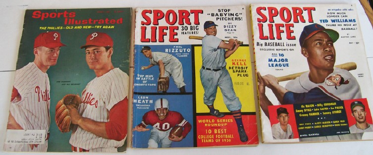 1950s-60s Sport Life & Sports Illustrated Special Baseball Issue
