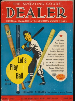 1953 Sporting Goods Dealer-Sports Equipment Trade Source 340 Pgs