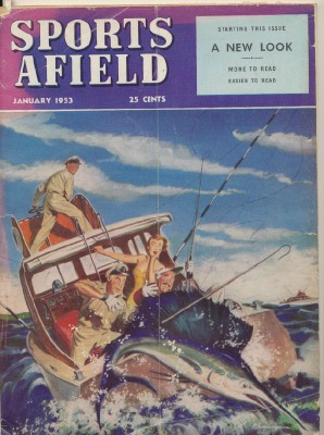 January 1953 Sports Afield - Brennan Cover