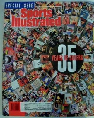 Sports Illustrated 35-Year Anniversary Issue With Cover History