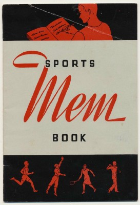 1950s American Can Co Advertising Sports Mem Book