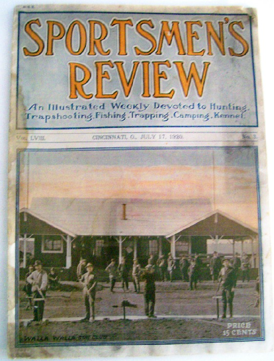 1920 Sportsmen's Review - Hunting Trapping Trapshooting ++