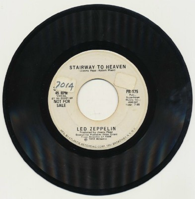 Stairway To Heaven - Led Zeppelin - Mono & Stereo - Promo