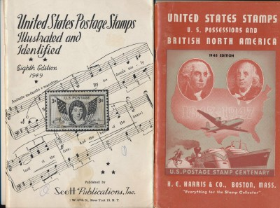 Vintage US Postage Stamp Catalogs - Scott & Harris