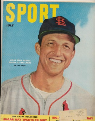 July 1952 Sport Magazine - Stan Musial Cover