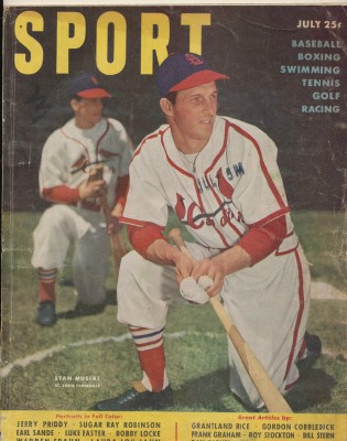 July 1950 Sport Magazine - Stan Musial Cover