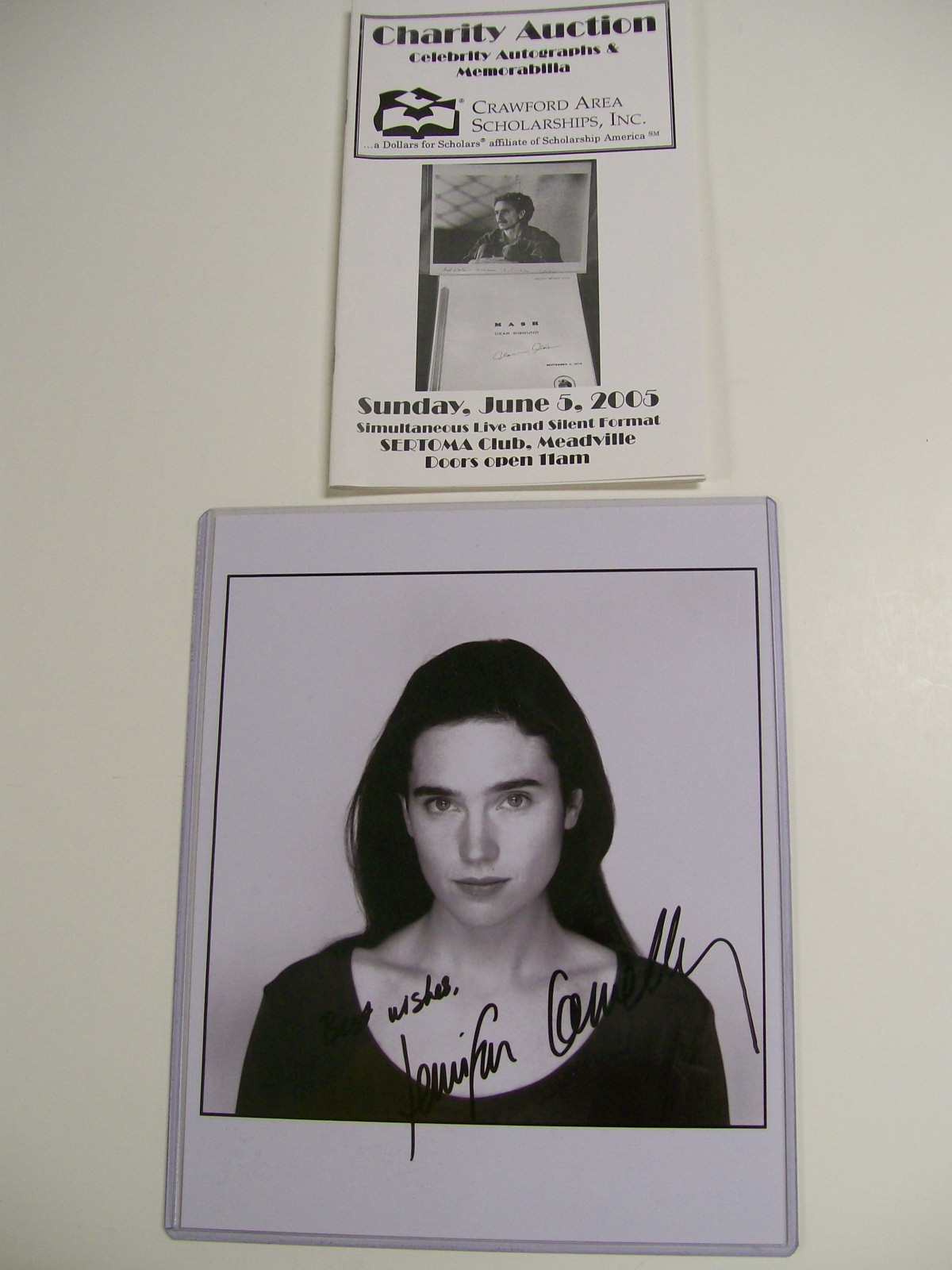 "Jennifer Connelly Auyographed 8"" X 10"" Photo""Dark Water"""