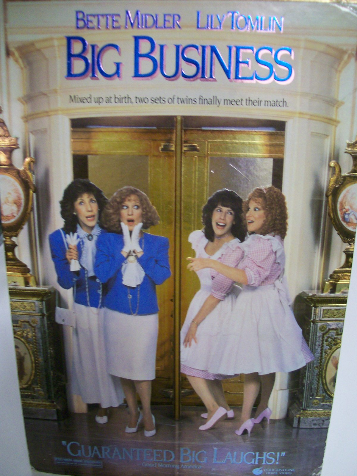 Movie Big Business Bette Milder/Lily Tomlin 1988/Scarce