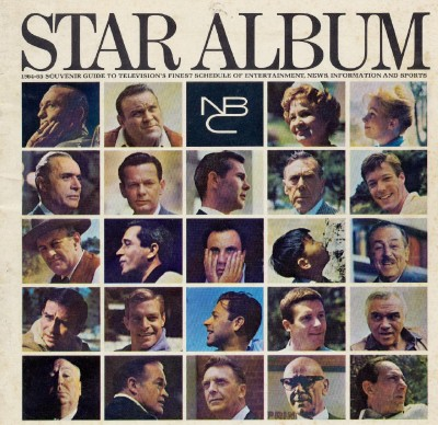 1964-1965 NBC TV Television Star Album