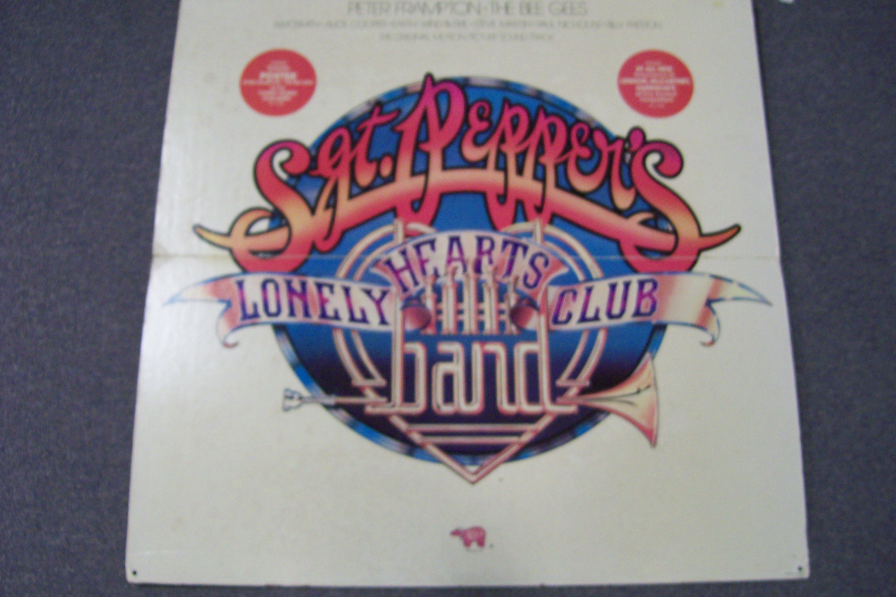 The Beatles Sgt. Peppers Lonely Hearts Club Band Poster 3 FT.SQ.