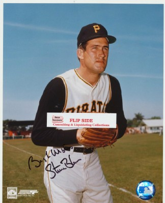 Pittsburgh Pirates - Steve Blass Autographed Photo