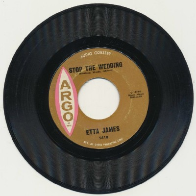 Stop The Wedding + Street Of Tears - Etta James