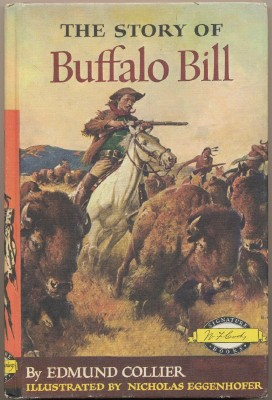 1952 Story Of Buffalo Bill Weekly Reader Children's Book