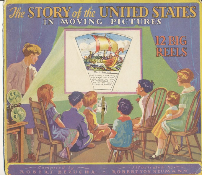 1931 Story Of The United States In Moving Pictures With 12 Reels