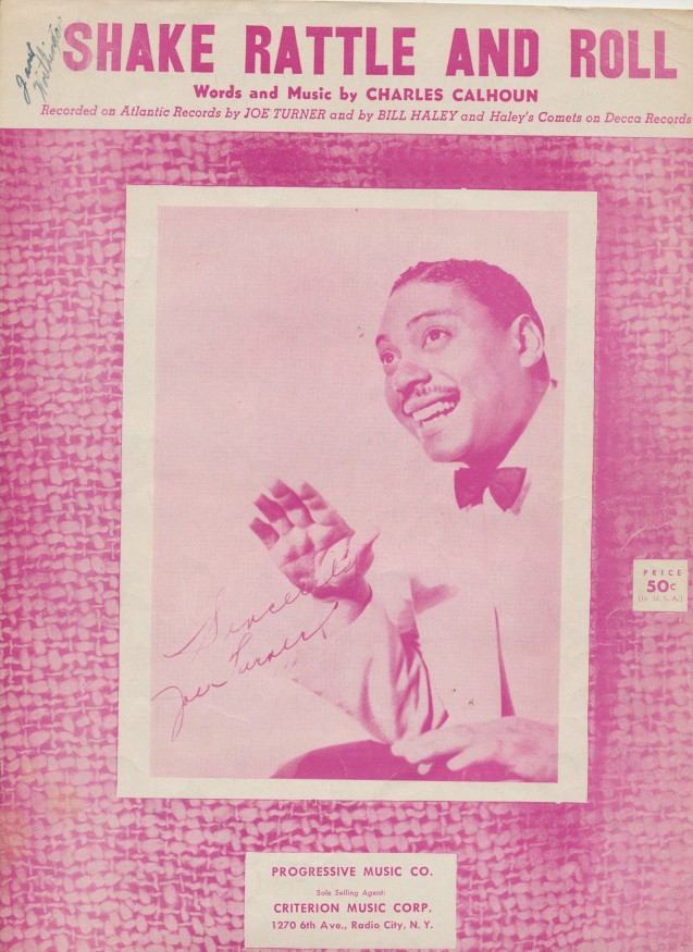 1954 Shake Rattle And Roll Sheet Music - Sung By Joe Turner