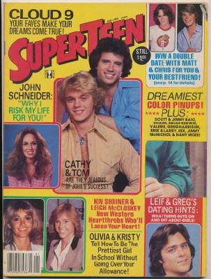 Vintage 60s-70s SuperTeen Magazine - TV Stars