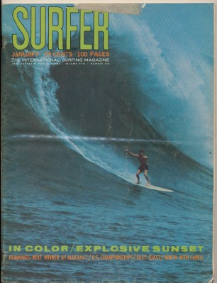 January 1964 Surfer Magazine - International Surfing