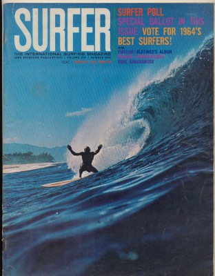 March 1965 Surfer Magazine - International Surfing