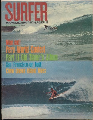 May 1965 Surfer Magazine - International Surfing