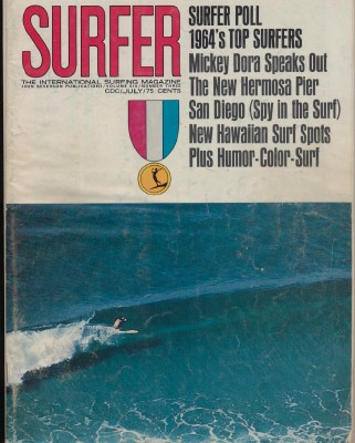 July 1965 Surfer Magazine - International Surfing Magazine