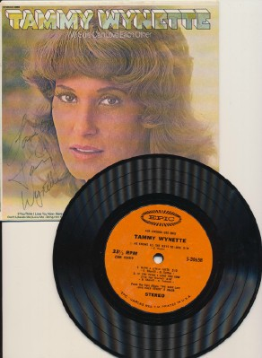 We Sure Can Love Each Other-Tammy Wynette W/Autographed Pic Slv