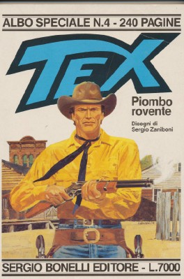 Tex - Italian Western Comic Book - 240 Pages