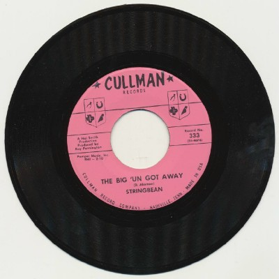 The Big 'Un Got Away+I Bought Me A Mule--Stringbean--1st Record