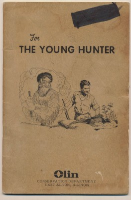 1963 Winchester Western Booklet For The Young Hunter