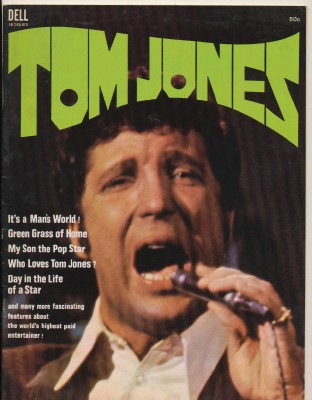 Vintage 1969 Tom Jones Biographic Magazine