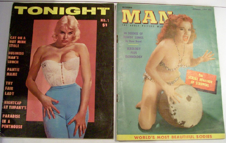 1950s Men's Cheesecake Magazine No.1 Vol 1 1959 Tonight