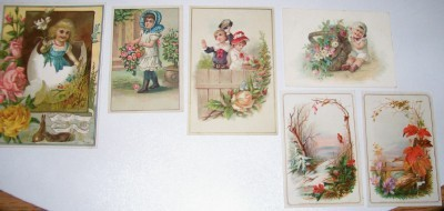 Vintage Trade Card Lot - Coffees A & P Woolson Spice