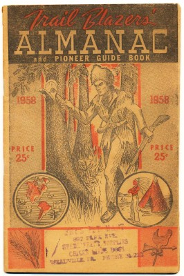 1958 Trail Blazers' Almanac & Pioneer Guide Book