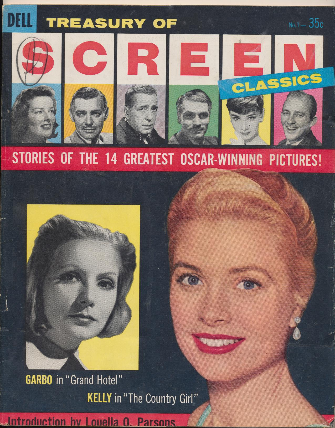 1957 Treasury Of Screen Classics Vol 1 #1 - Greatest Oscar Films