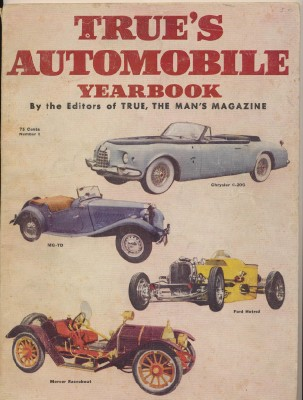 1952 First Issue - True's Automobile Yearbook