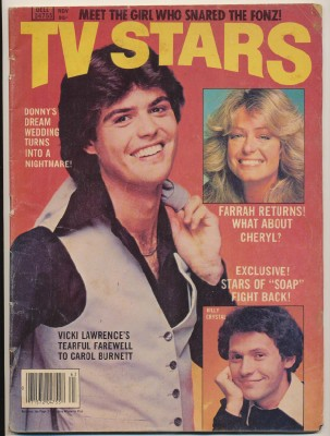 1978 TV Stars Mag - Farrah Donny Billy Crystal Fonz +++