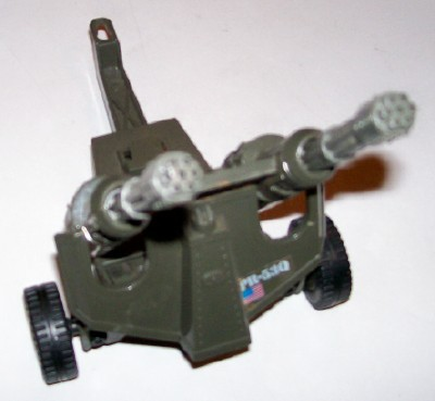 Vintage 1983 Hasbro GI Joe Whirlwind Twin Battle Gun