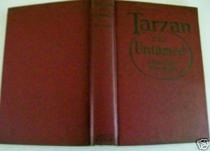 Tarzan The Untamed Edgar Rice Burroughs St John Cover HC DJ