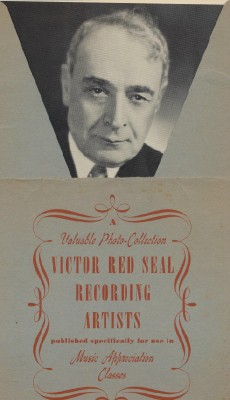 Set Of 1930s Victor Red Seal Recording Artist Portrait Photos