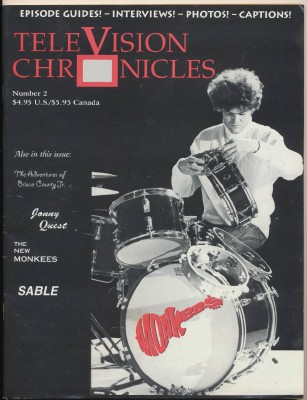 July 1995 TeleVision Chronicles #2 - Monkees Cover Feature