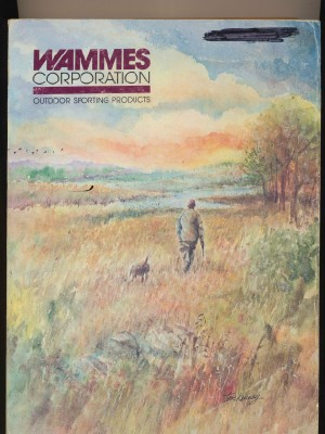1985 Wammes Gun Knife Archery Trapping Hunting Catalog - 524 Pgs