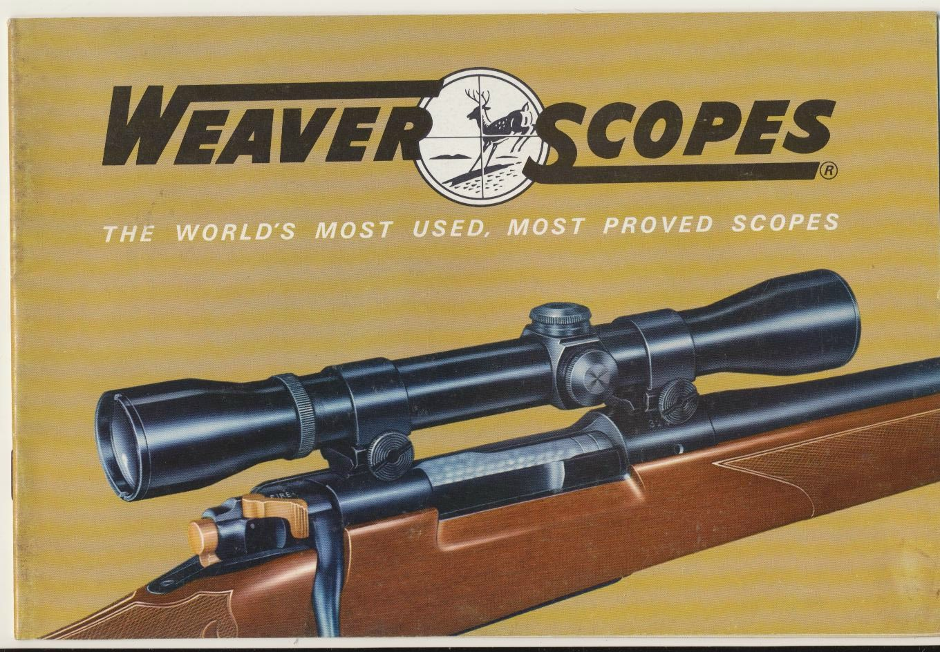 1964 Weaver Rifle Scopes Dealer Trade Catalog